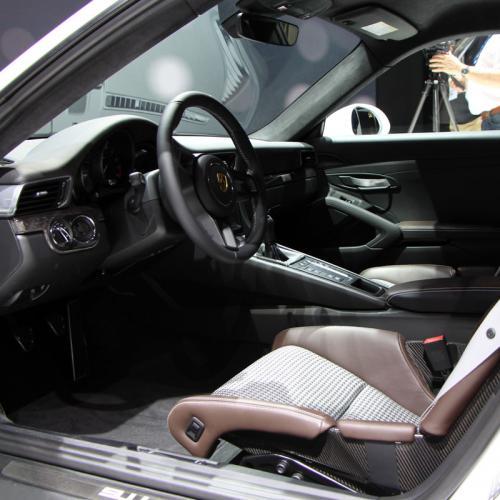 Porsche 911 R : les photos en direct de Genève