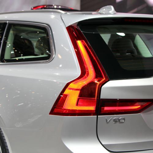 Volvo S90 et V90 : toutes les photos en direct de Genève