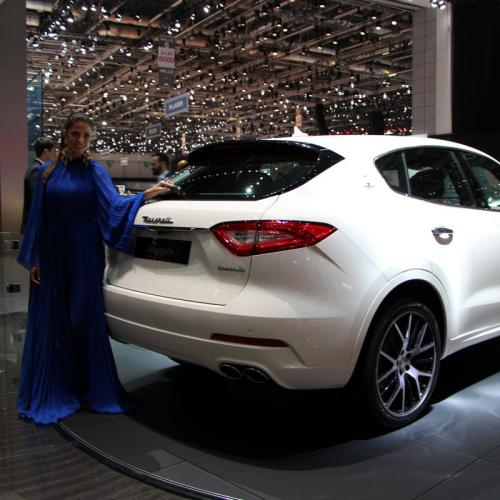 Maserati Levante : les photos en direct de Genève