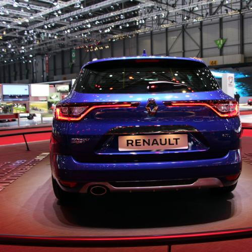 Renault Mégane Estate : les photos en direct de Genève