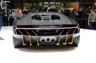 Lamborghini Centenario : les photos en direct de Genève