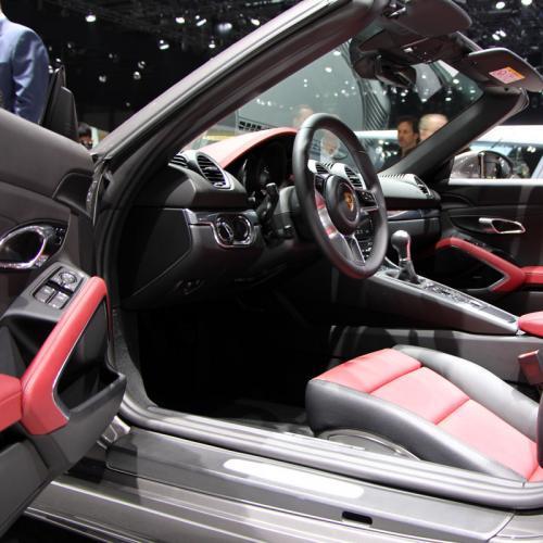 Porsche 718 Boxster : les photos en direct du salon de Genève