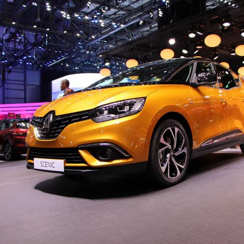 Renault Scénic 4 : les photos en direct de Genève