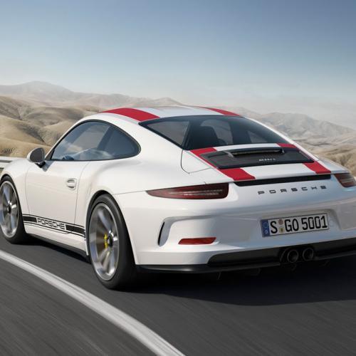 Porsche 911 R : toutes les photos