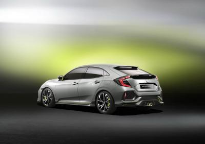 Honda Civic Hatchback Prototype : toutes les photos