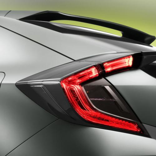Honda Civic Hatchback Prototype : toutes les photos