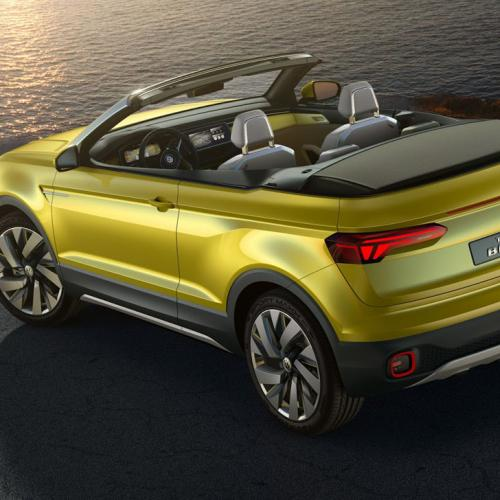 Volkswagen T-Cross Breeze Concept : toutes les photos