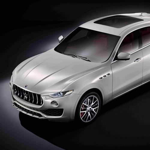 Maserati Levante : toutes les photos du SUV au Trident