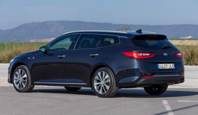 Kia Optima SW et PHEV : les photos