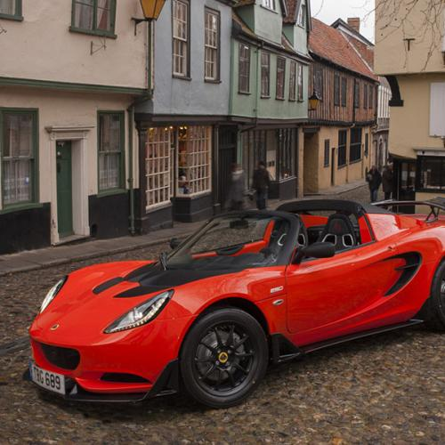 Lotus Elise Cup 250 : les photos