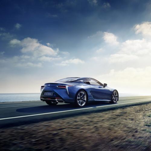 Lexus LC 500h : toutes les photos