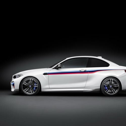 BMW M2 : les photos du kit M Performance