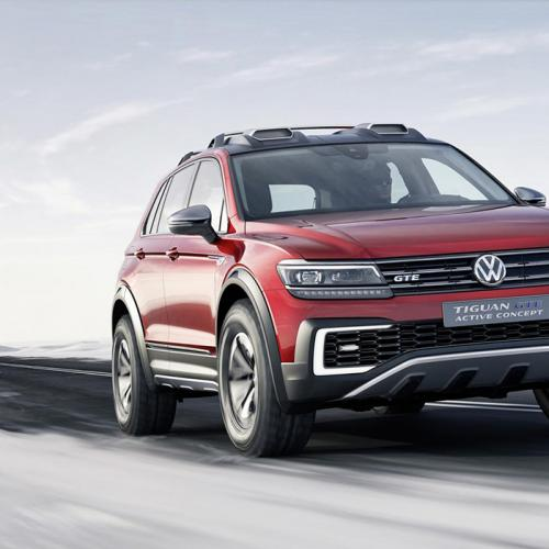 volkswagen tiguan gte active concept les infos et photos. Black Bedroom Furniture Sets. Home Design Ideas