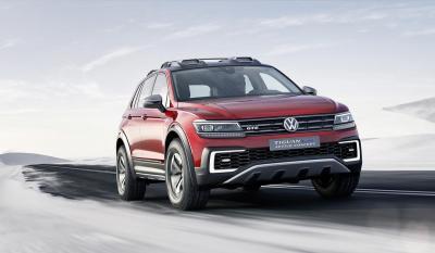 Volkswagen Tiguan GTE Active Concept : toutes les photos