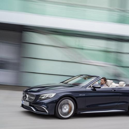 Mercedes S 65 AMG Cabriolet : toutes les photos