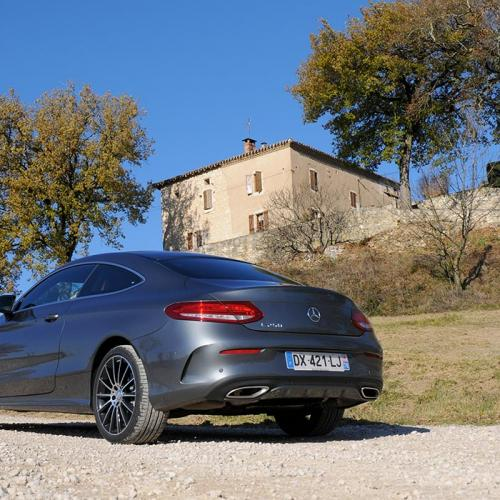 Essai Mercedes Classe C coupé : toutes les photos