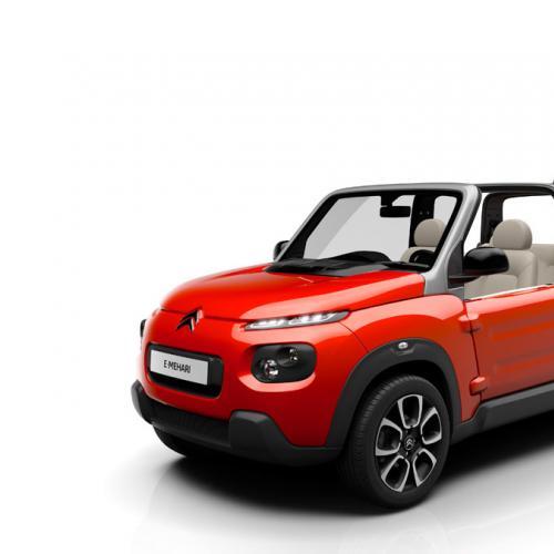 Citroën e-Méhari : toutes les photos