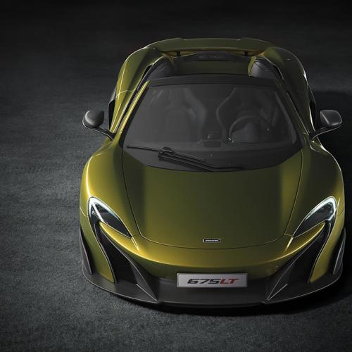 McLaren 675LT Spider : les photos