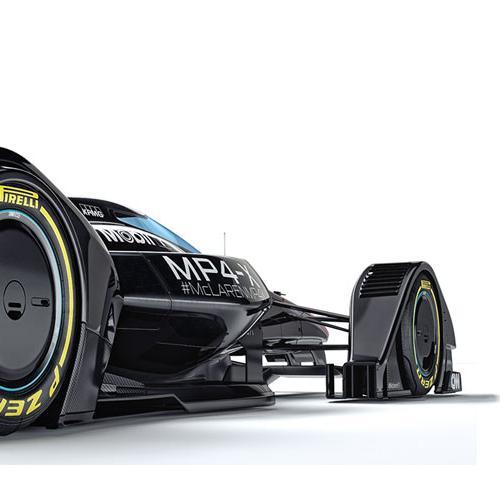 McLaren MP4-X : toutes les photos