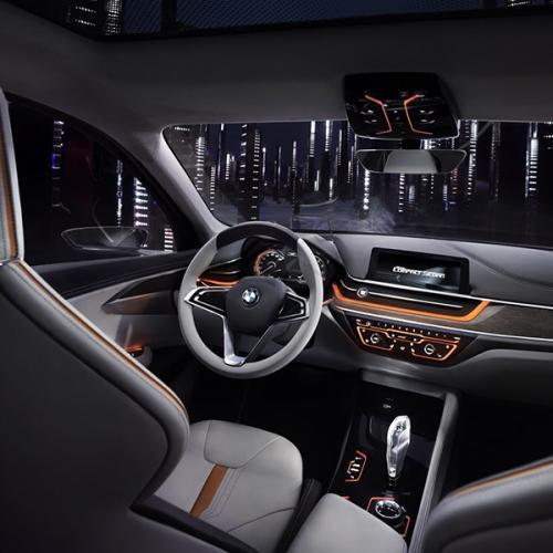 BMW Compact Sedan Concept : toutes les photos