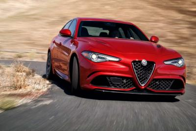 Alfa Romeo Giulia : la version US en images