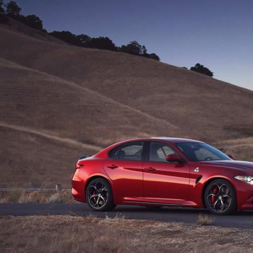 Alfa Romeo Giulia : la version US en images