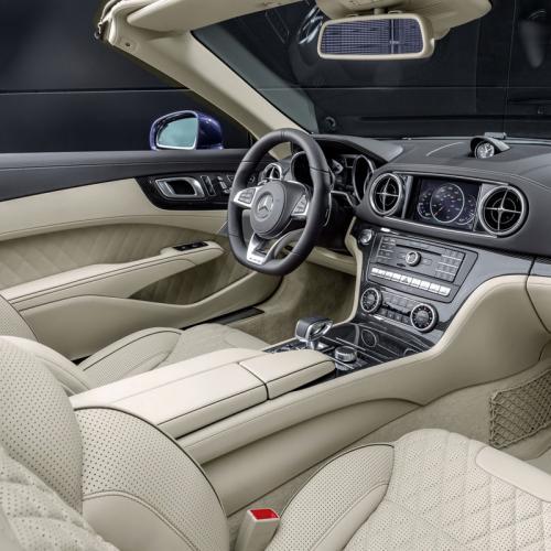 Mercedes SL 2016 : toutes les photos