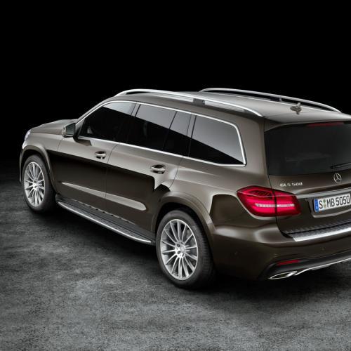Mercedes GLS : toutes les photos