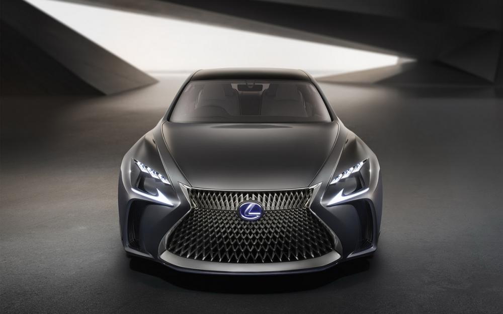 Lexus LF-FC concept : toutes les photos