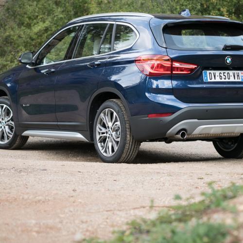 Essai BMW X1 : les photos