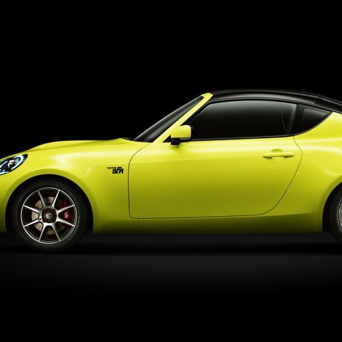 Toyota S-FR concept : toutes les photos