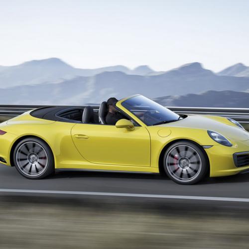 Nouvelles Porsche 911 Carrera 4, 4S et Targa