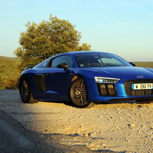 Audi R8 V10 Plus : les photos de notre essai