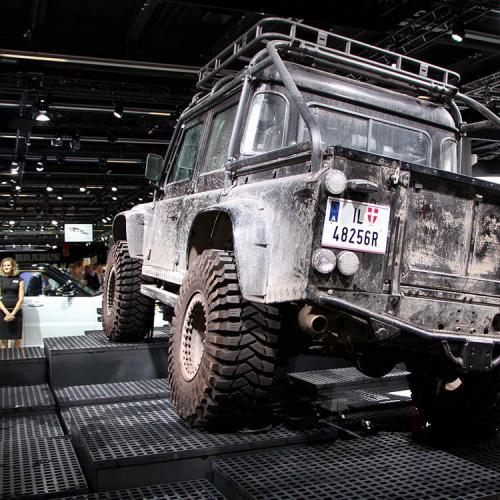 Jaguar Land Rover : les voitures de Spectre à Francfort