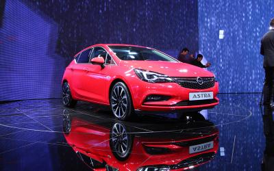 Opel Astra : les photos de Francfort 2015