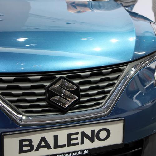 Suzuki Baleno : les photos du salon de Francfort