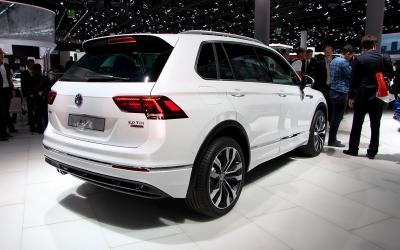Volkswagen Tiguan : les photos du salon de Francfort