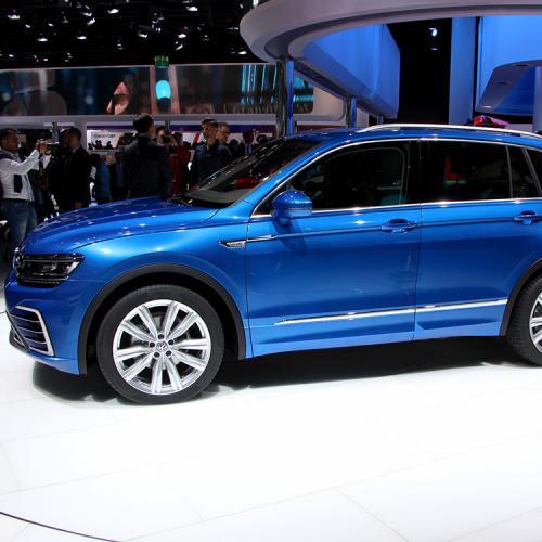 Volkswagen Tiguan : les photos du salon de Francfort
