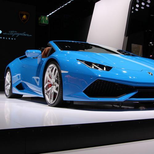 Lamborghini Huracan Spyder : les photos du salon de Francfort