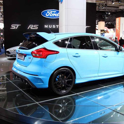 Ford Focus RS : les photos du salon de Francfort