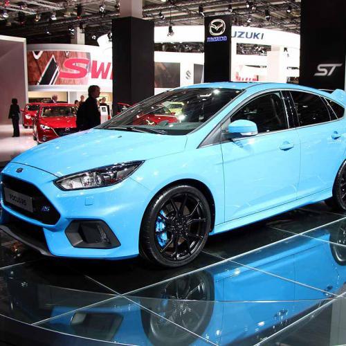Ford Focus RS : les photos du salon de Francfort