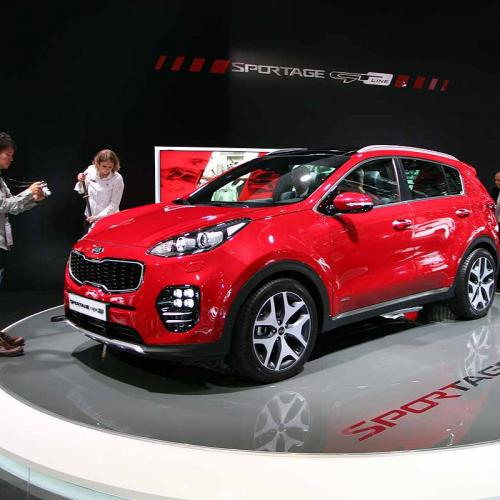 Kia Sportage : les photos du salon de Francfort