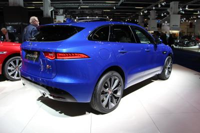 Jaguar F-Pace : les photos en direct de Francfort