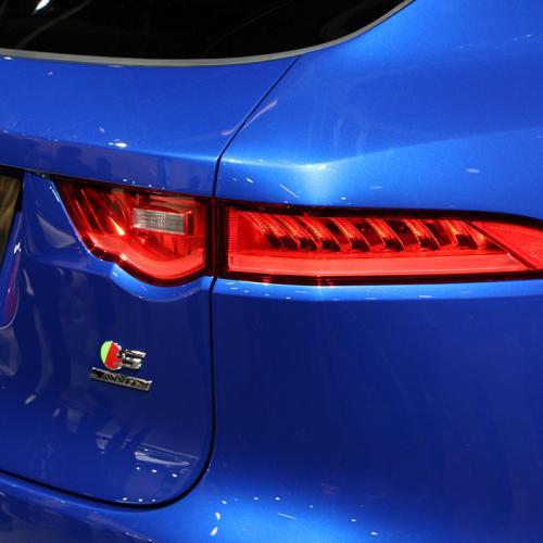 Jaguar F-Pace : les photos en direct de Francfort