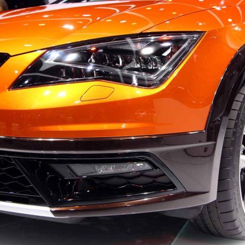 Seat Leon Cross Sport Concept : les photos en direct de Francfort