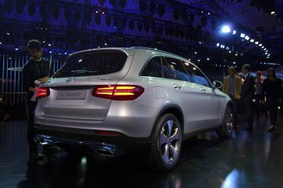 Mercedes GLC : les photos du salon de Francfort