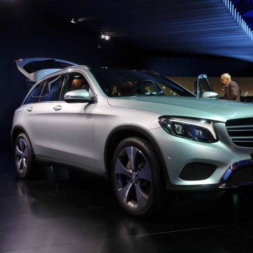 Mercedes GLC : les photos du salon de Francfort