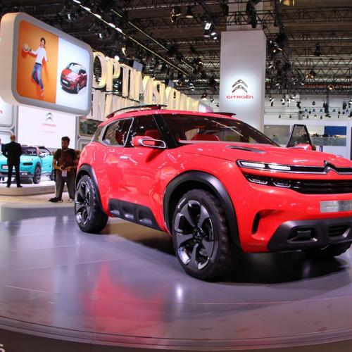 Citroën Aircross Concept : les photos du salon de Francfort