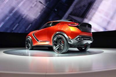 Nissan Gripz Concept : les photos en direct de Francfort