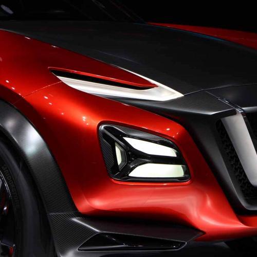 Nissan Gripz Concept : les photos en direct de Francfort